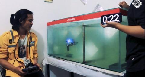 Mahasiswa ITS Ciptakan Robot Penyelam Baru, Sabet Enam Penghargaan