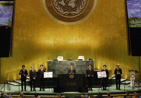 Di Sidang PBB, BTS Bawakan Permission to Dance