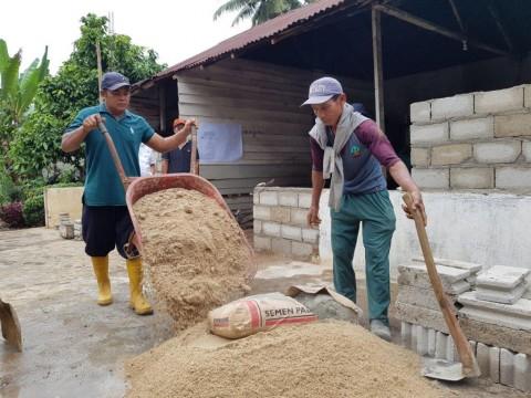 Puluhan Rumah Tahan Gempa Dibangun di Cilacap