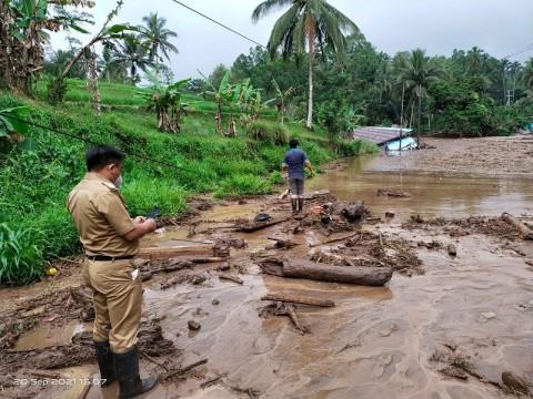 Banjir Bandang di Minahasa Tenggara, 3 Bangunan Hanyut
