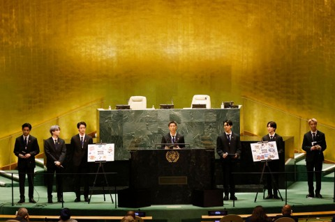 BTS Pidato di Sidang PBB, Penonton <i>Online</i> Capai 1 Juta