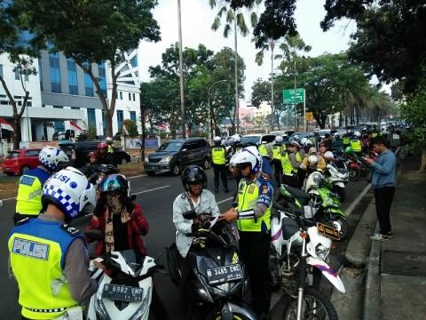 Hari Pertama Operasi Patuh Jaya, 2.560 Pengendara Ditilang