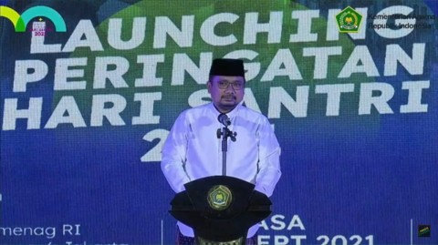 Bela Negara Jadi Semangat Peringatan Hari Santri 2021
