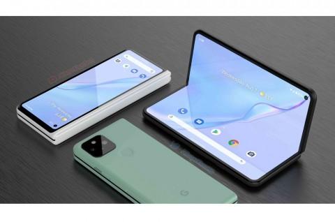 Google Pixel Fold Mirip Samsung Galaxy Fold Rilis Tahun Ini