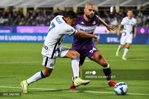 Fiorentina vs Inter Milan: La Beneamata Redam 10 Pemain La Viola