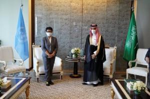 Lobi Umrah, Menlu Retno Sampaikan Data Terkini Covid-19 ke Arab Saudi