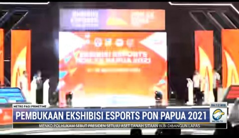 Top! Banten Tekuk DKI Jakarta di Eksibisi Esports PON Papua Cabang eFootball PES