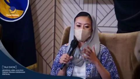 Partai NasDem Ajak Anak Muda Melek Kekerasan Seksual