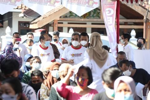 Gelar Vaksinasi Massal, Gerindra DIY Dukung Percepatan Program Vaksin Pemerintah