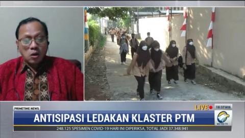 Epidemiolog Ungkap Penyebab Ribuan Sekolah Jadi Klaster Covid-19 Selama PTM