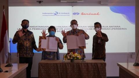 Dukung Ekspor UMKM, LPEI Kucurkan Modal Rp50 Miliar ke Sarinah