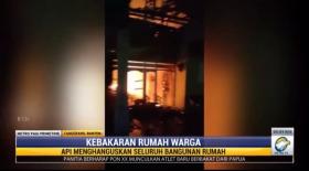 Rumah Terbakar di Tangerang Diduga Akibat Kompor Gas Meledak