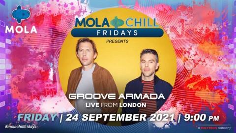 Groove Armada siap buat penggemar berpesta di Mola Chill Fridays