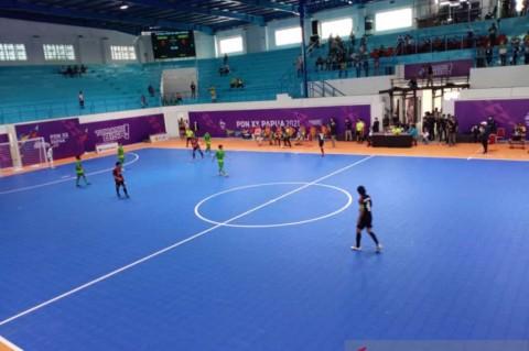PON Papua XX: Tim Futsal Papua Bungkam Sumut