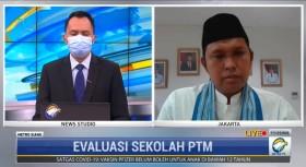 Ada Siswa Positif Covid-19, Disdik DKI Jakarta Tetap Siapkan PTM Tingkat Selanjutnya