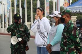 Kunjungi Papua, Putri Indonesia Yakin Aman dan PON Siap Bergulir