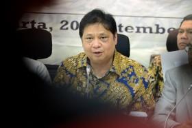 Airlangga Ogah Menyampaikan Langsung Sikap Golkar Terkait Azis Syamsuddin