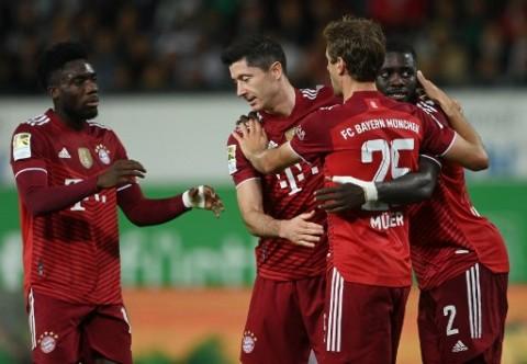 Greuther Fuerth tetap Terlalu Lemah bagi 10 Pemain Bayern