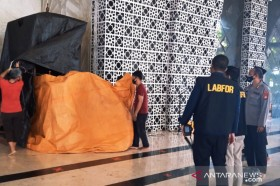 Mimbar Masjid Raya Makassar Dibakar, Pelaku Diburu Polisi
