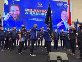 Targetkan Menang Pemilu, NasDem Tunjuk Mantan Gubernur Sulbar Jadi Ketua DPW
