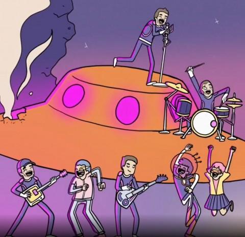 Komik Indonesia Tahilalats Kampanyekan Single Terbaru Coldplay dan BTS