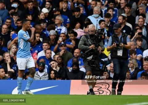 Chelsea vs Manchester City: Jesus Jadi Penyelamat City
