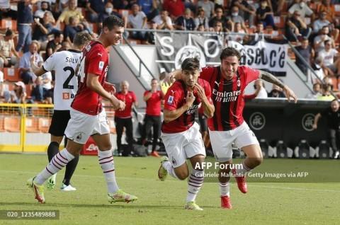 Spezia vs AC Milan: Gol Telat Diaz Menangkan Rossoneri