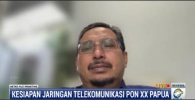 Sambut PON XX, Kominfo Bangun 162 BTS Hingga Akses Data 11,5 Gbps di Papua