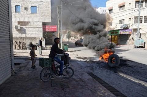 4 Warga Palestina Tewas dalam Baku Tembak dengan Israel