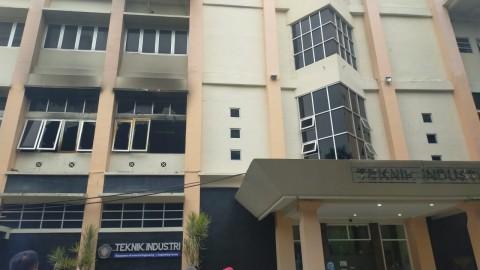 Gedung Fakultas Teknik Universitas Brawijaya Terbakar