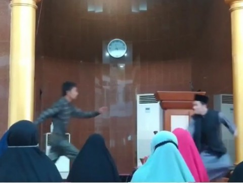 Penyerang Ustaz di Batam Ditetapkan Tersangka