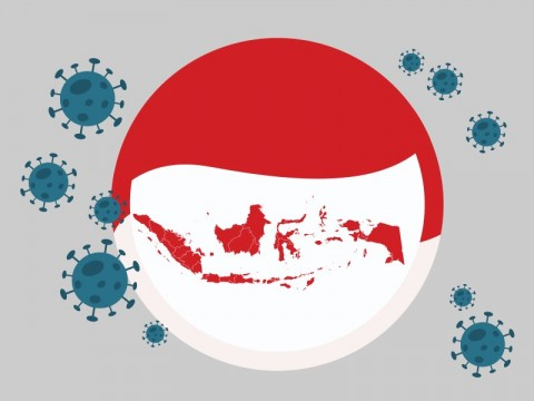 Kasus Covid-19 di Indonesia Bertambah 1.390