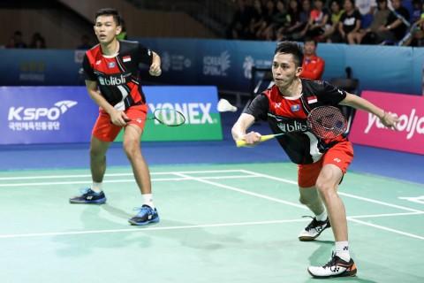 Piala Sudirman: Fajar/Rian Buka Kemenangan Indonesia