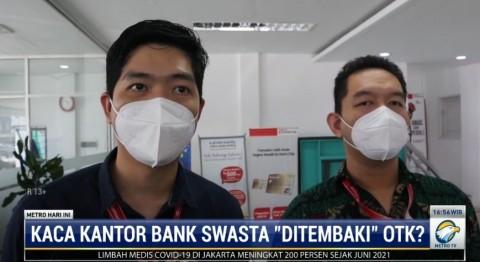 Bank Swasta di Pontianak Dihujani Peluru oleh Orang Tak Dikenal