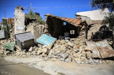 42 Gempa Susulan Guncang Pulau Kreta Yunani