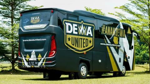 Mengintip Bus Milik Dewa United Di Liga 2
