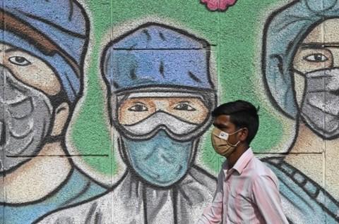 Kasus Harian Covid-19 India Turun Drastis Selama 2 Hari Berturut-turut