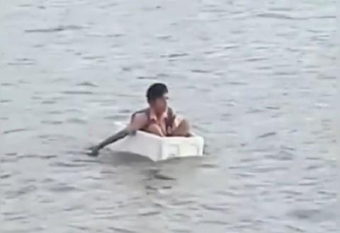 Dinilai Eksploitasi Anak, Gubernur Sumsel Kecam Perekam Siswa SD Seberangi Sungai Pakai Styrofoam