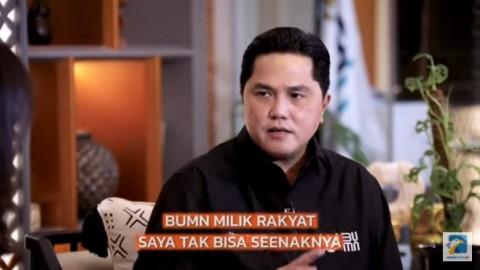 Strategi Baru Erick Thohir di BUMN, Merger Perusahaan Hingga Bentuk Holding UMKM