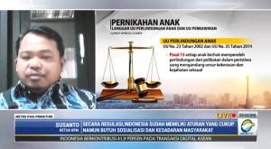 Indonesia 8 Besar Dunia Pernikahan Dini, Bisa Hambat Generasi Emas