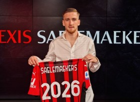 Resmi, AC Milan Perpanjang Kontrak Saelemaekers Hingga 2026