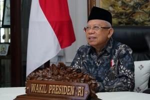 Wapres: 2021 Momentum Kebangkitan Pesantren dan Keuangan Syariah Indonesia