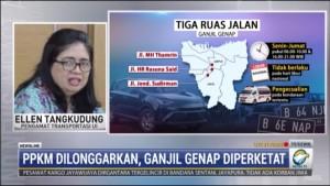 Begini Kata Pengamat Soal Pemberlakuan Ganjil Genap Jakarta