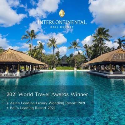 Selamat! InterContinental Bali Resort Kembali Sabet 3 Penghargaan Internasional
