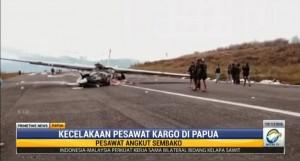 Pesawat Kargo Jatuh, Bandara Aminggaru Ilaga Ditutup Sementara