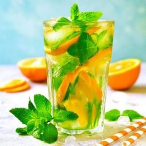 Segarnya Minuman ala Orange Mojito Mocktail