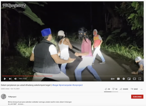 [Cek Fakta] Beredar Video Ustaz Dibegal di Lampung? Begini Faktanya