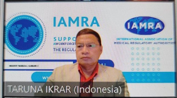 Prof. Dr. Taruna Ikrar, Orang Indonesia Pertama Sebagai Director IAMRA