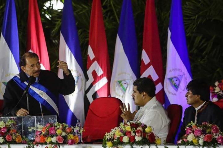 Ortega Dilantik Jadi Presiden Nikaragua Periode Keempat
