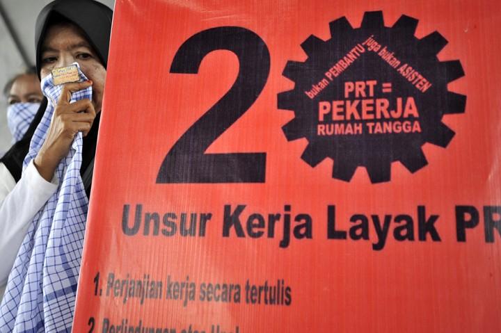PRT di Makassar Desak Pemerintah Sahkan RUU PPRT